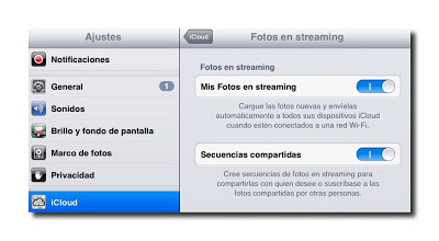 Borrar fotos en streaming ipad 2