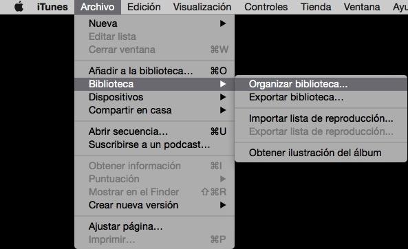 Organizar biblioteca