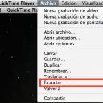 Cómo convertir una película a formato iPad con QuickTime