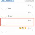 Cómo eliminar el historial de conversaciones de Whatsapp desde tu iPhone