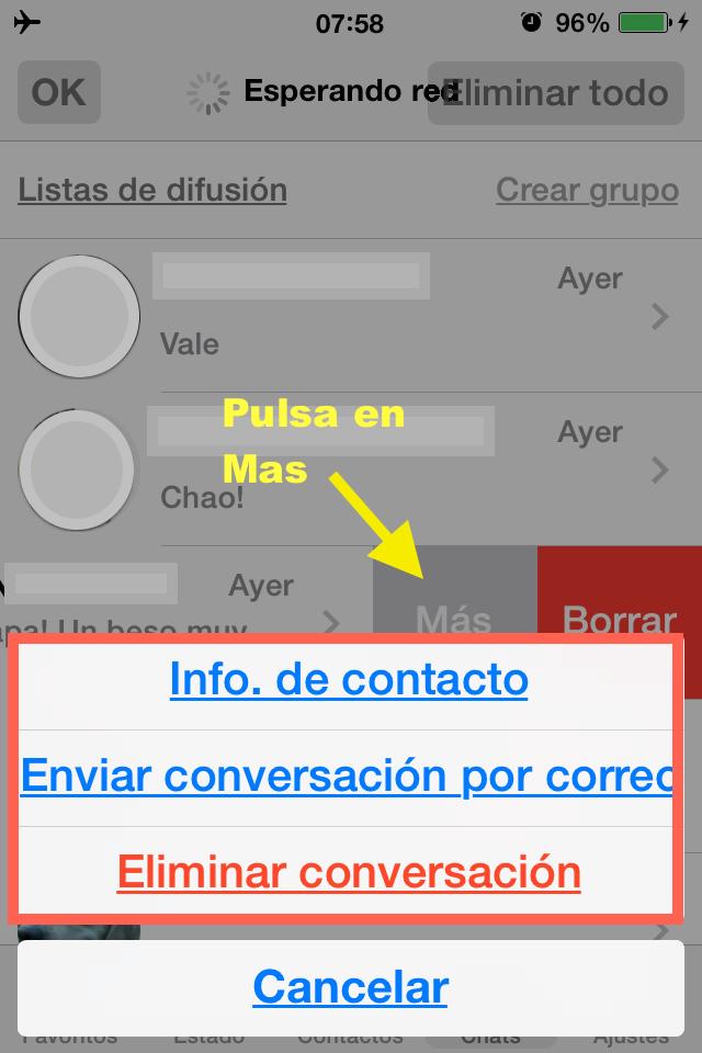 opcion mas whatsapp