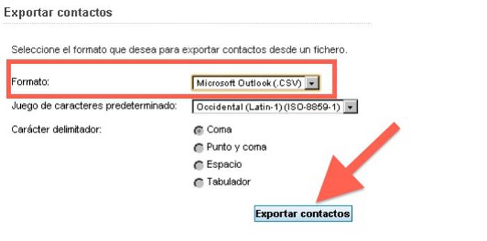 exportar-contactos csv