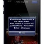 COMO HACER QUE WHATSAPP ACCEDA A MIS FOTOS EN EL IPHONE