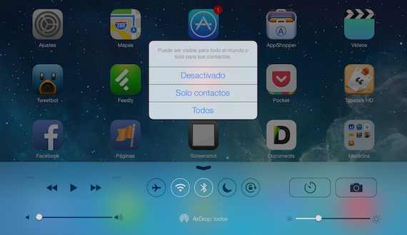 how to turn on aird drop on ipad