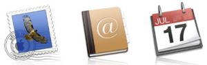 calendario y mail icono