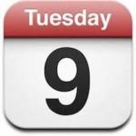 Cómo acceder a la lista del Calendario del iPhone o iPad