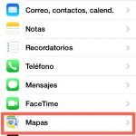 Cómo definir la ruta a pie en Mapas del iPhone o iPad.