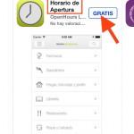 Horario de apertura: Aplicación para ver los establecimientos abiertos