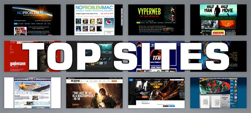 best internet sites 2014