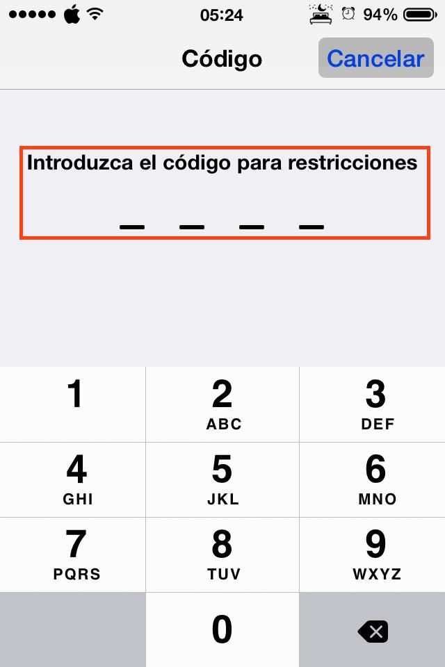 Incluye un código numérico