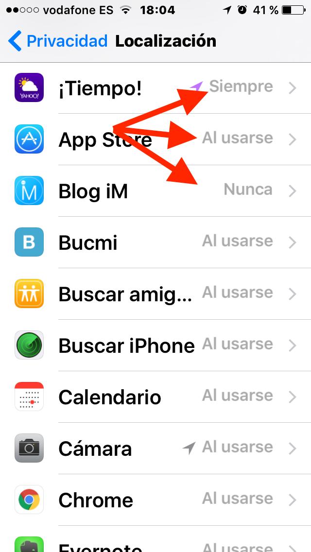 Abre una aplicación